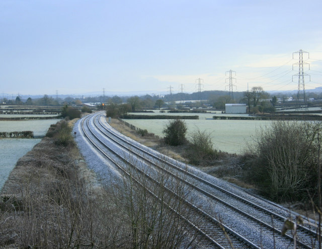 2010 : Railway line between Westbury and the south west