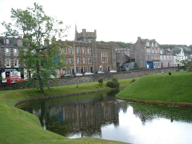 Rothesay Castle Moat