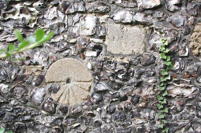 St Mary, Harmondsworth - Mass dial