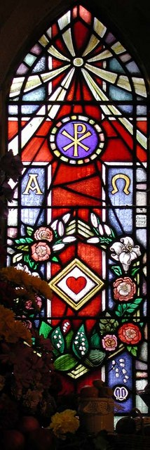 St Mary, Harmondsworth - Window