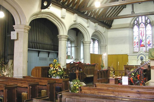 St Mary, Harmondsworth - East end