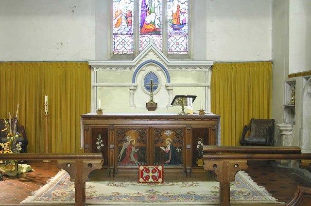 St Mary, Harmondsworth - Sanctuary