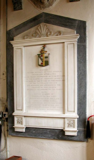 St Mary, Harmondsworth - Wall monument
