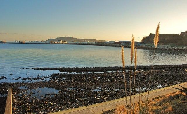 Weymouth: Nothe Beach