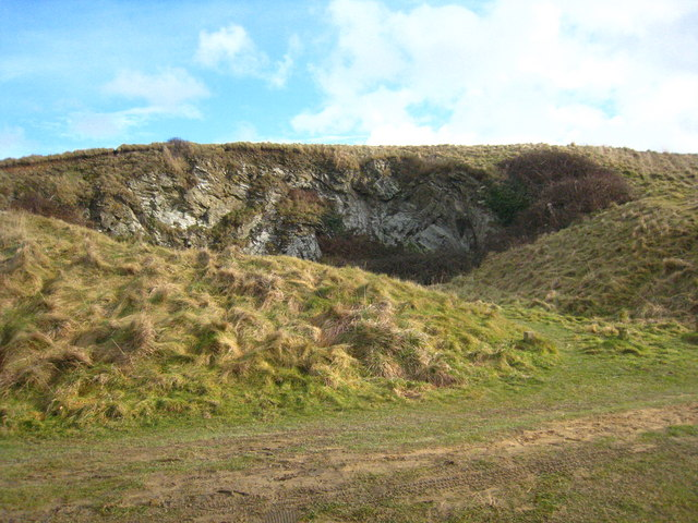 Old quarry on Cubert Common