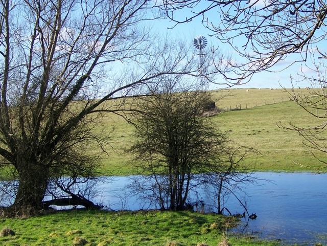 River Leach near Eastleach Martin