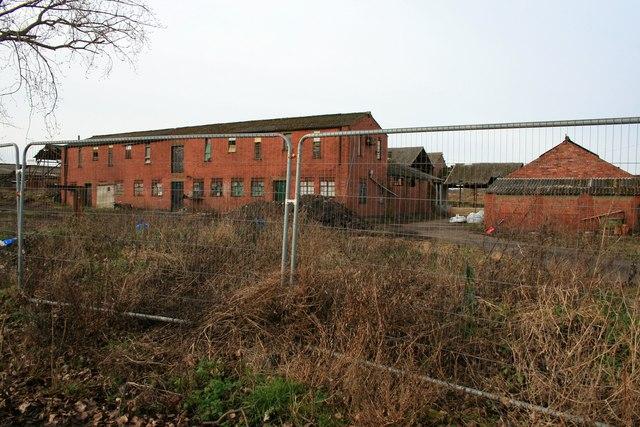 Derelict farm buildings