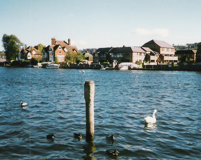 The Thames at Marlow, 1994