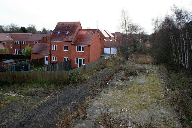 New houses at Ruddington