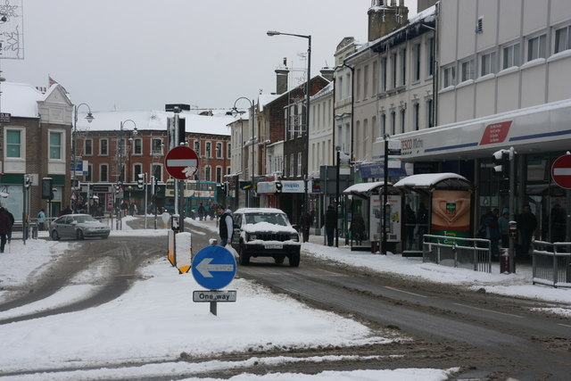 Grosvenor Rd in the snow