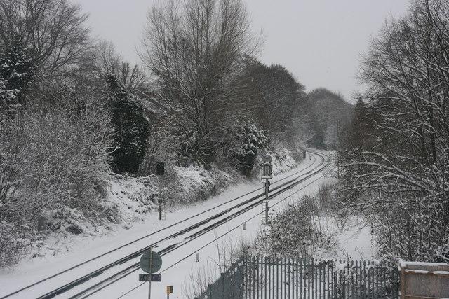Snow on the line