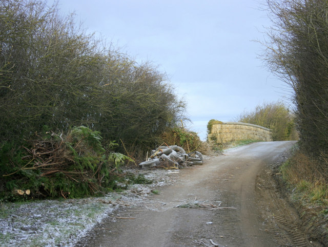 2010 : Hedge tidying on Pot Lane bridge