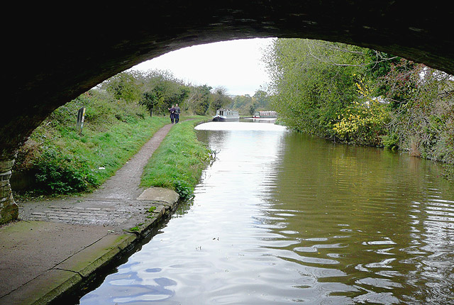 Trent and Mersey Canal at Little Haywood, Staffordshire
