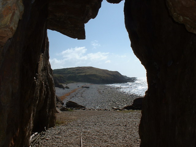 View from St Ninian's Cave