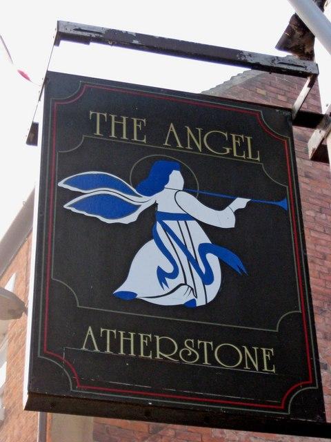 The Angel Inn sign, 24 Church Street