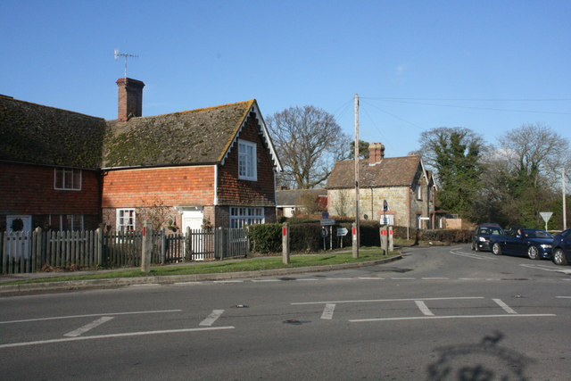 Junction of High St & Edenbridge Rd, Hartfield