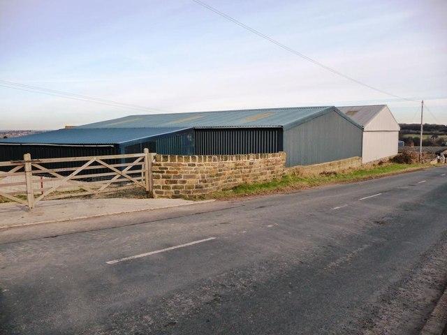 Farm buildings  at Birch Laithe Farm, Bretton Lane