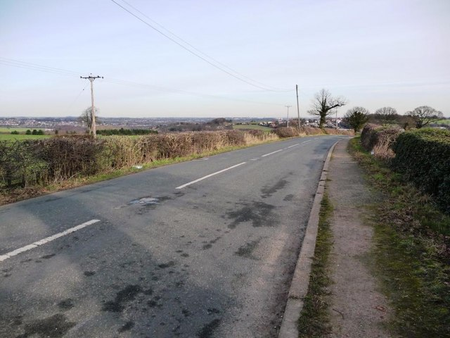 Bretton Lane, north of  Stag Royd Wood
