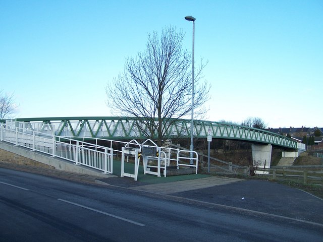 Footbridge over the M1 Motorway, Tankersley