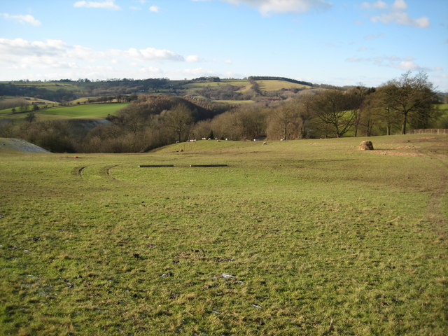 View across the Teme valley