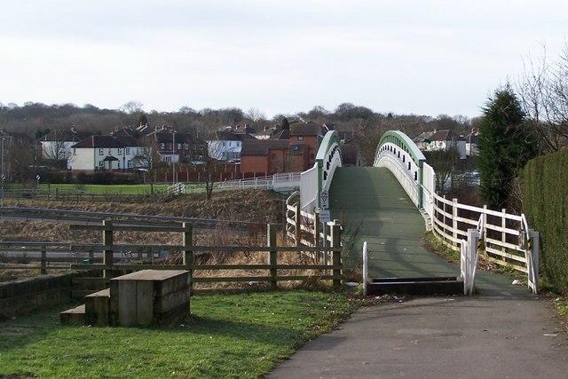 M1 Footbridge, Tankersley - 1