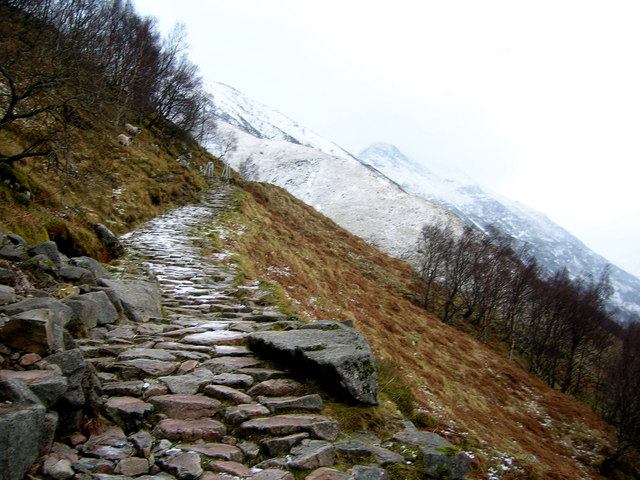 The Ben Nevis path