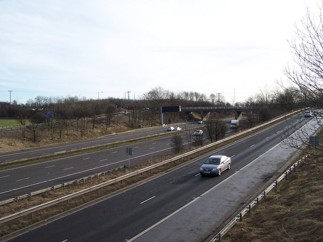 Junction 36, M1 Motorway, Tankersley - 1