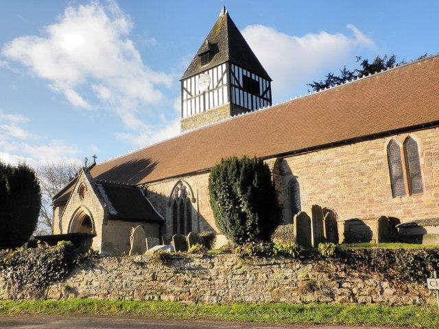 St Andrew's Church, Hampton Bishop