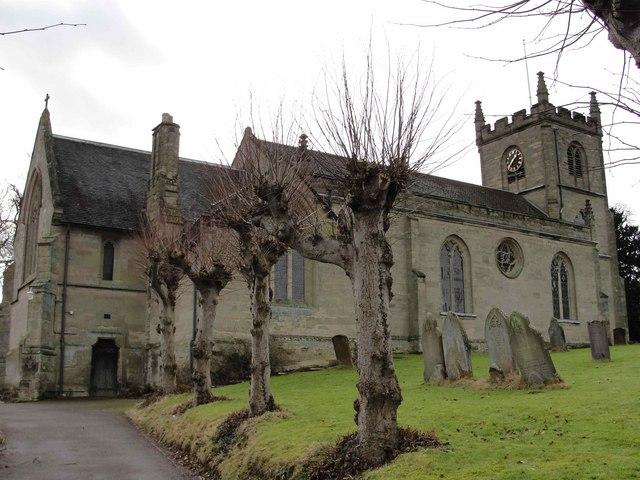 Parish church, Leek Wootton