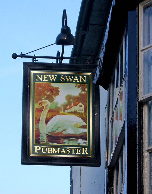 New Swan sign, Church Street