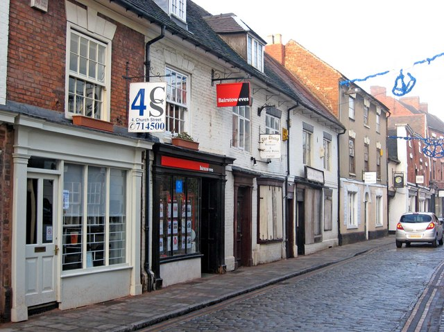 Church Street (formerly Bakehouse Lane)