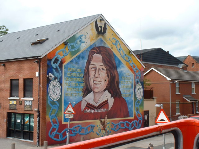 Bobby sands mural jthomas cc by sa 2 0 geograph for Bobby sands mural