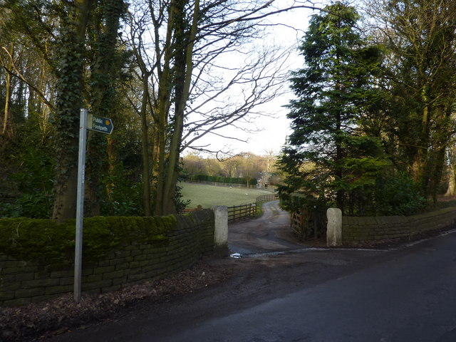 Footpath off Hillfoot Road, Totley