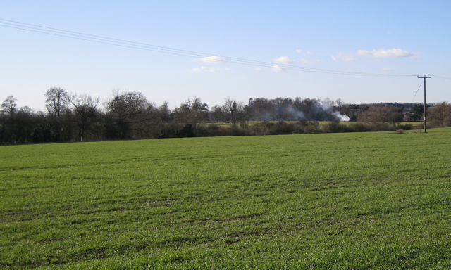Field north of the Leam