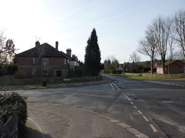 On Church Lane, Dore