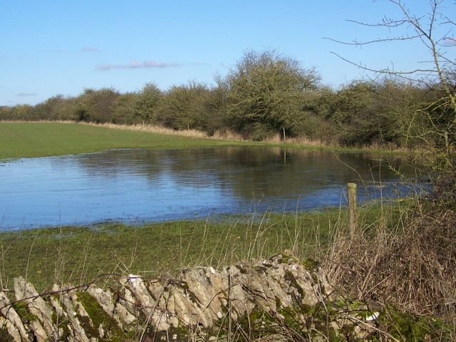 Flooded field, Shilton