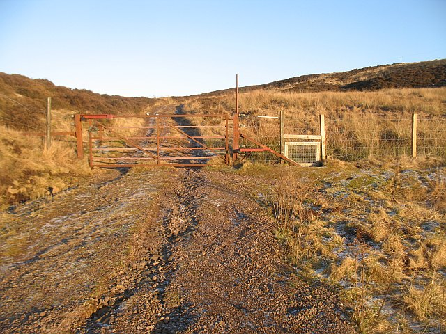 March fence, Lundie Craigs