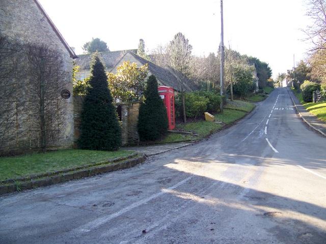 Street scene, Shilton