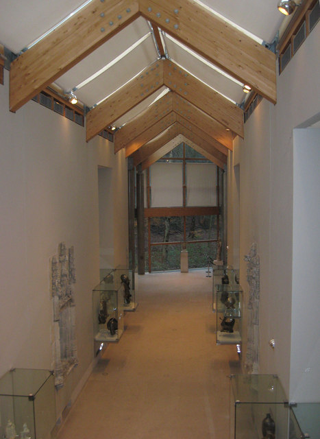 Inside the Burrell Museum