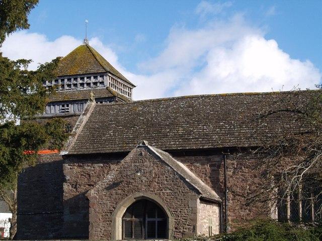 Skenfrith church