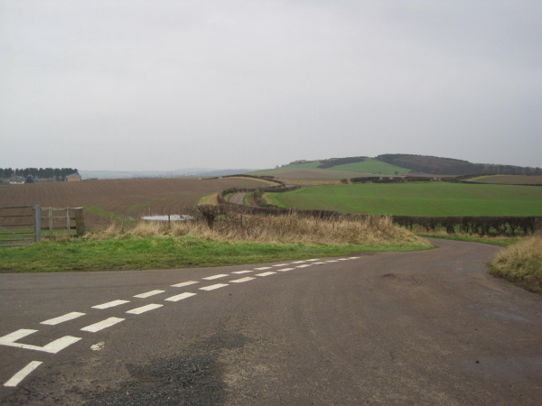 Winding road to The Ducket