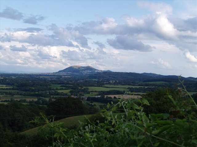 View towards Malvern