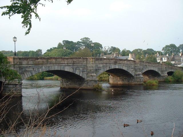 Bridge over River Cree, Newton Stewart