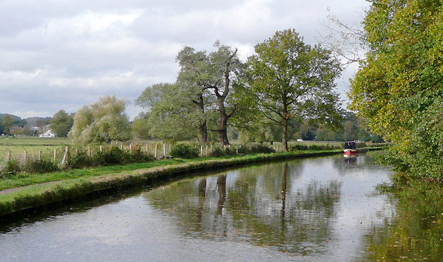Trent and Mersey Canal by Shugborough, Staffordshire