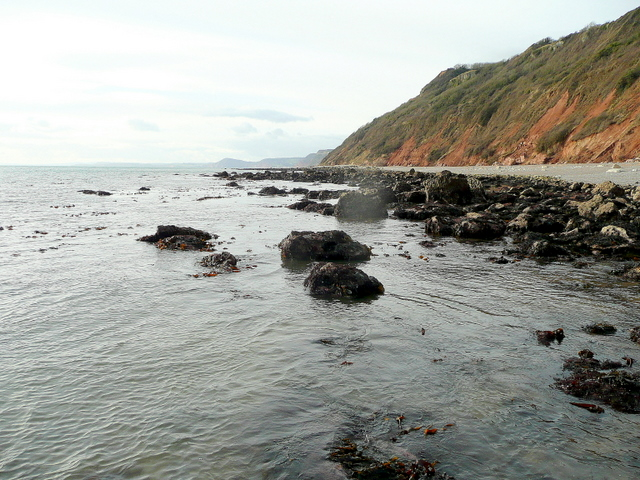 Branscombe rocks looking west