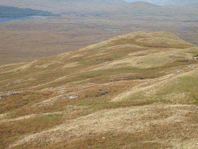 Northeast ridge, Leathad Mòr