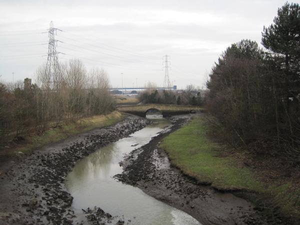 River Don and Jarrow Bridge