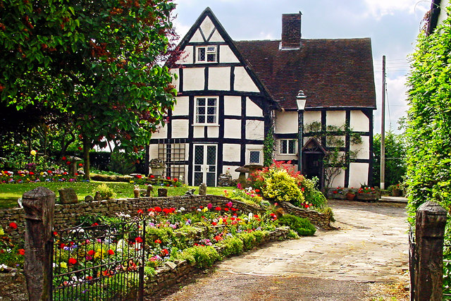 Apperley - Half-Timbered House