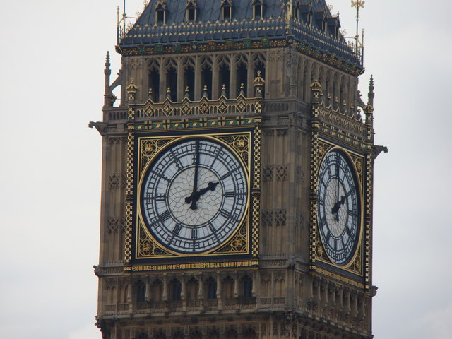 Zoom in on the Westminster Clock Tower