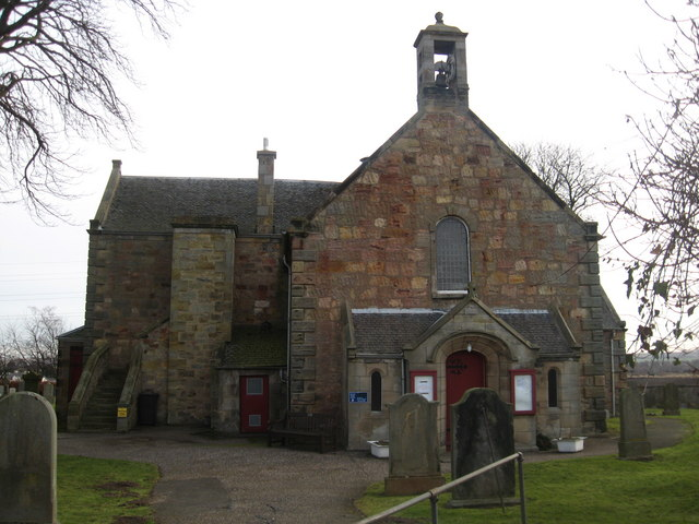 Front (east) facade of Newton Parish Church